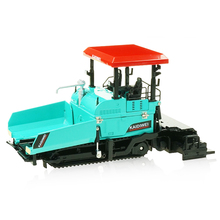 Литой под давлением асфальтоукладчик машина тротуарная асфальт шоссе строительство грузовик 1:40 Инженерная модель автомобиля украшения детские игрушки
