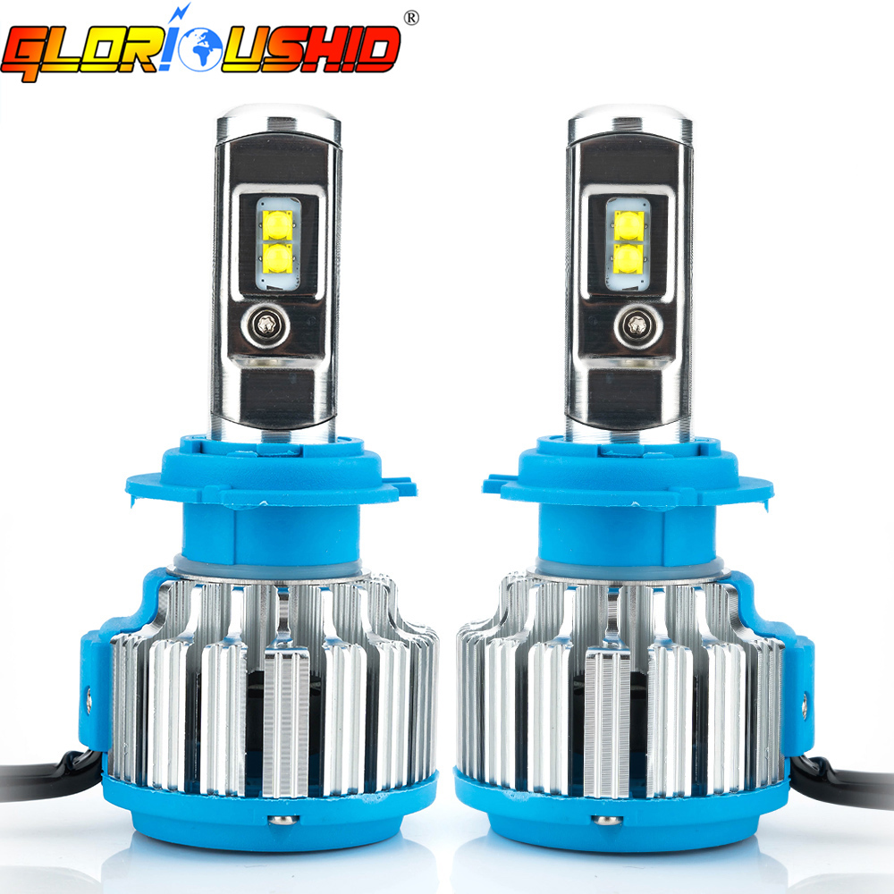 H7 LED H4 H1 H3 H11 9005 9006/HB4 70W 7000lm Car Headlights Auto Front Bulb Automobiles Headlamp xenon white 6000K Car Lighting