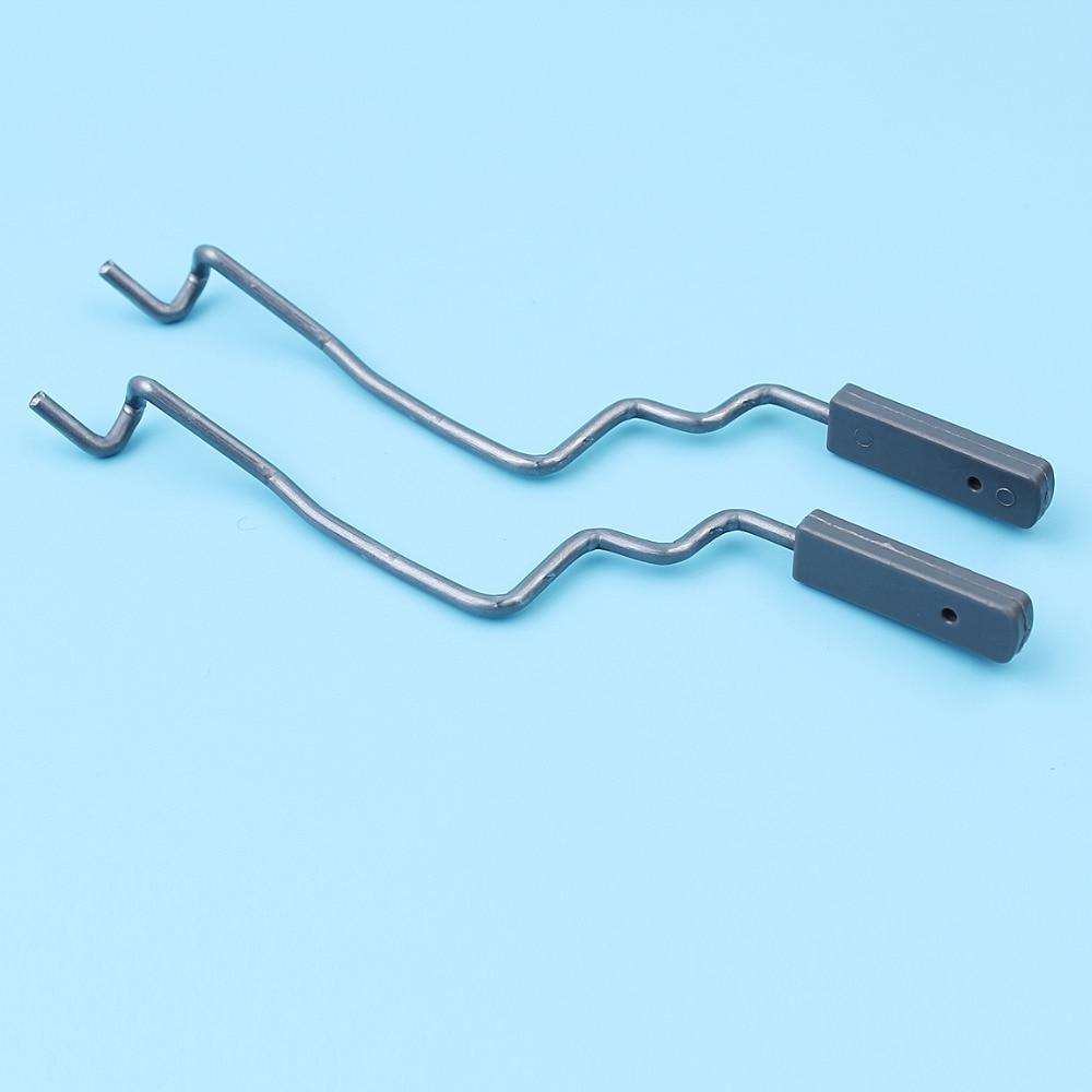 2Pcs/lot Carburetor Throttle Rod Lever Shaft For Husqvarna 340 345 350 346XP 353 351 E/EPA Chainsaw # 503889201 / 503 88 92-01