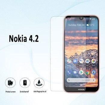 Перейти на Алиэкспресс и купить Закаленное стекло для Nokia C5 Endi C2 Tava Tennen C1 Nokia 4,2, Защитная пленка для экрана