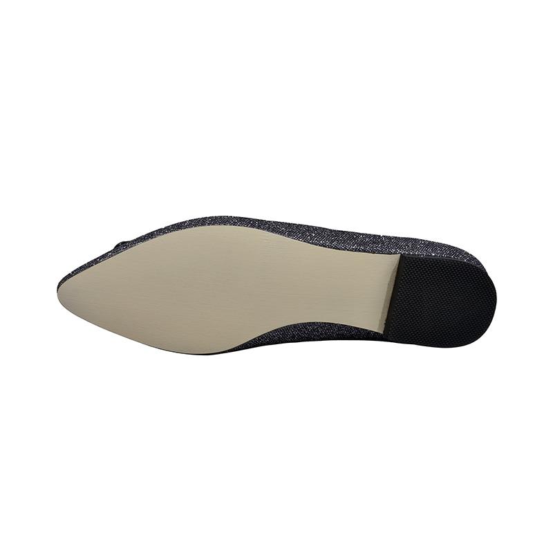 Confortable Chaussures Beige Karinluna Flambant Appartements Lady Neuf Ins Classiques Élégant De Femmes 2019 Style argent Bureau Mature CZOZxwqB6