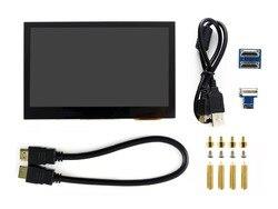 4.3 بوصة تعمل باللمس بالسعة شاشة IPS LCD HDMI واجهة يدعم التوت بي BB الأسود الموز بي متعددة مصغرة PCs متعددة أنظمة الخ