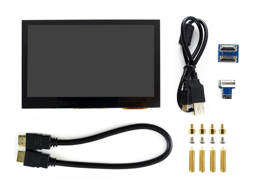 Pantalla táctil capacitiva de 4,3 pulgadas IPS LCD interfaz HDMI compatible con Raspberry Pi BB Black Banana Pi Multi piezas de los sistemas, etc.-in Tablero de demostración from Ordenadores y oficina on AliExpress - 11.11_Double 11_Singles' Day 1