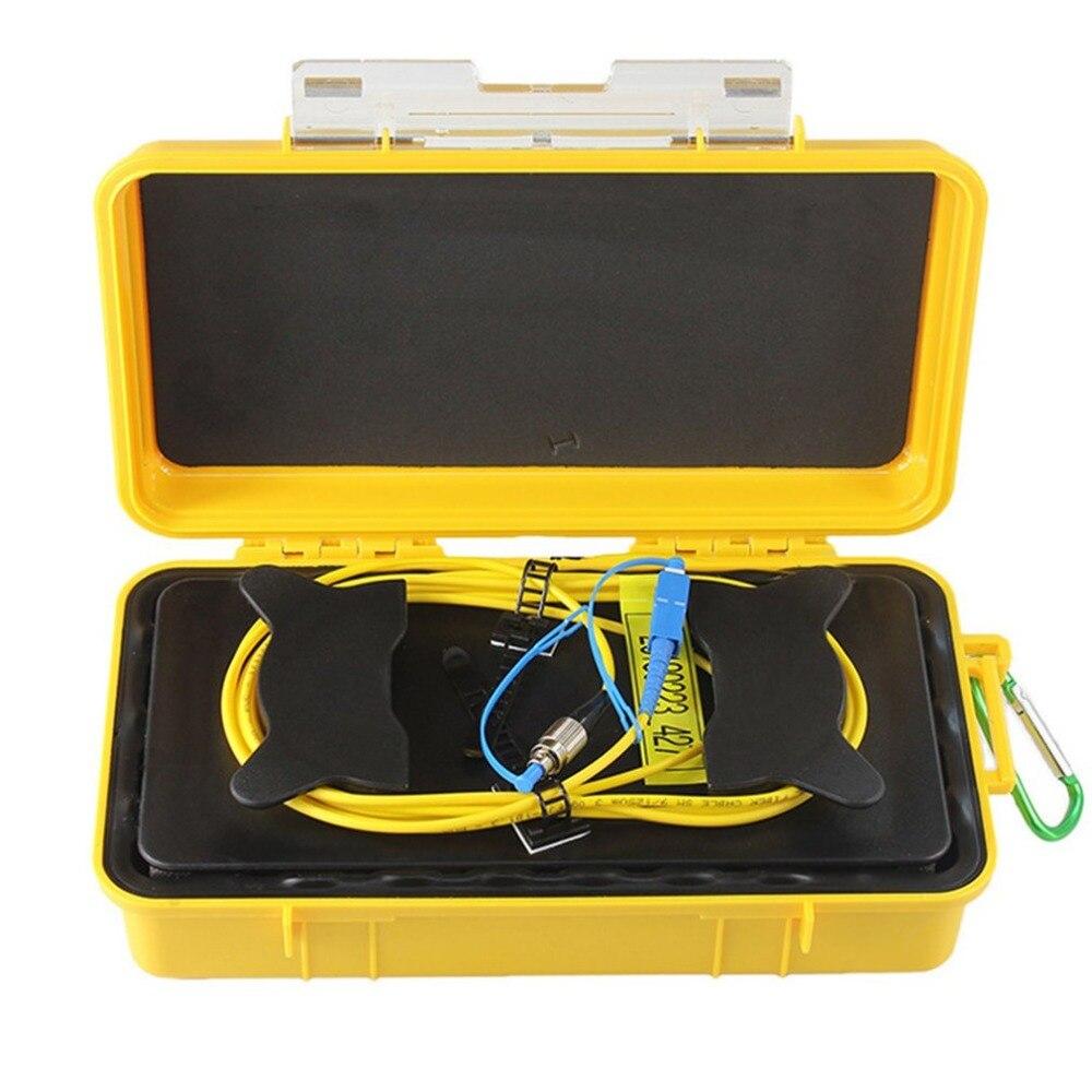 FC-UPC/SC-UPC OTDR Dead Zone Eliminator Fiber Rings Fiber Optic OTDR Launch Cable Box 1km SM 1310/1550nmFC-UPC/SC-UPC OTDR Dead Zone Eliminator Fiber Rings Fiber Optic OTDR Launch Cable Box 1km SM 1310/1550nm
