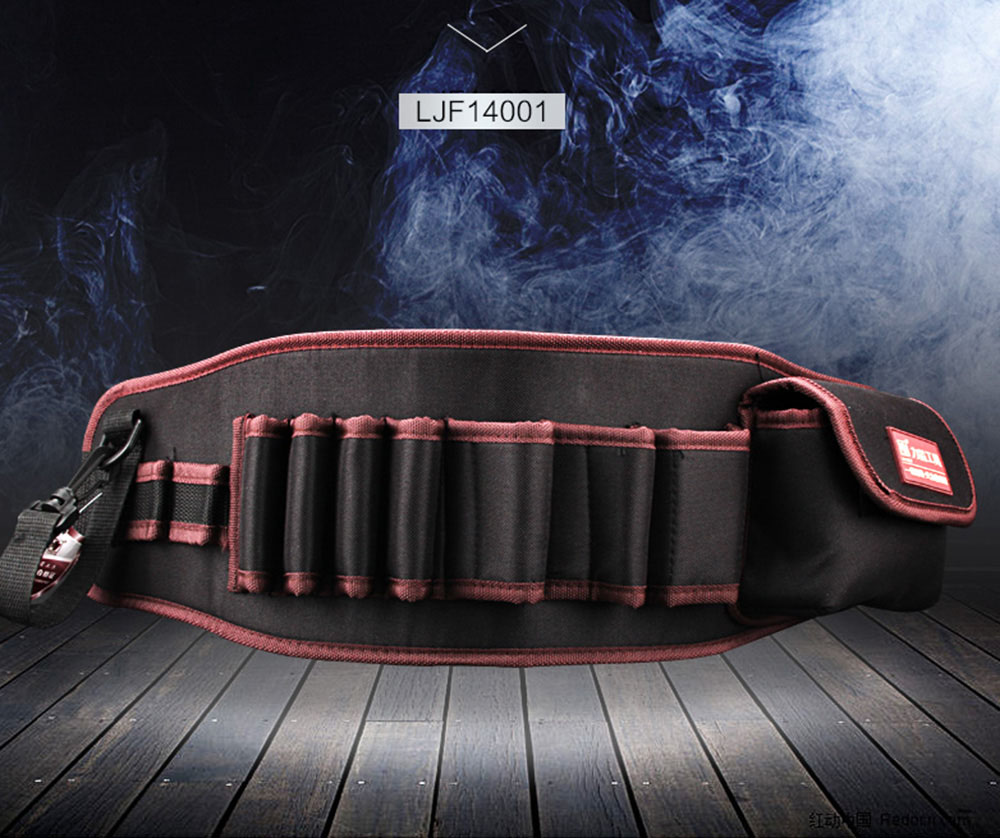 Multi-functional Water proof Cloth Rivet fixed Tool Bag (3)