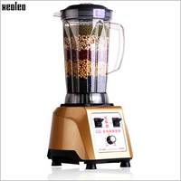 Xeoleo Heavy Duty Commercial Blender 2500W Multifunction Blender Mixer 4L Make Soybean Smoothie Juice High Quality