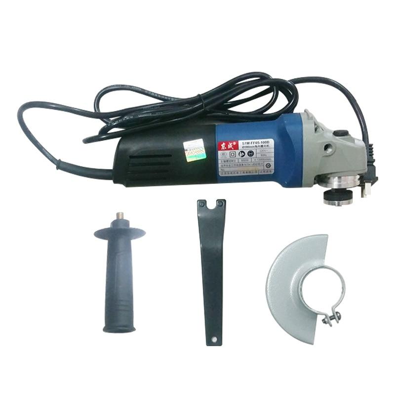 Купить с кэшбэком Angle grinder portable grinding wheel cutting machine angle polishing machine polishing machine power tool FF05-100B