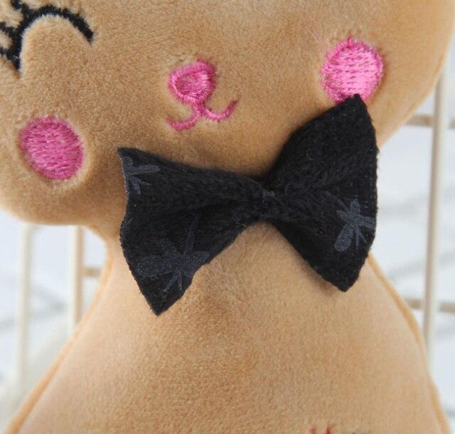Animal Stuffed Kitty Cat Key chain TOY 5