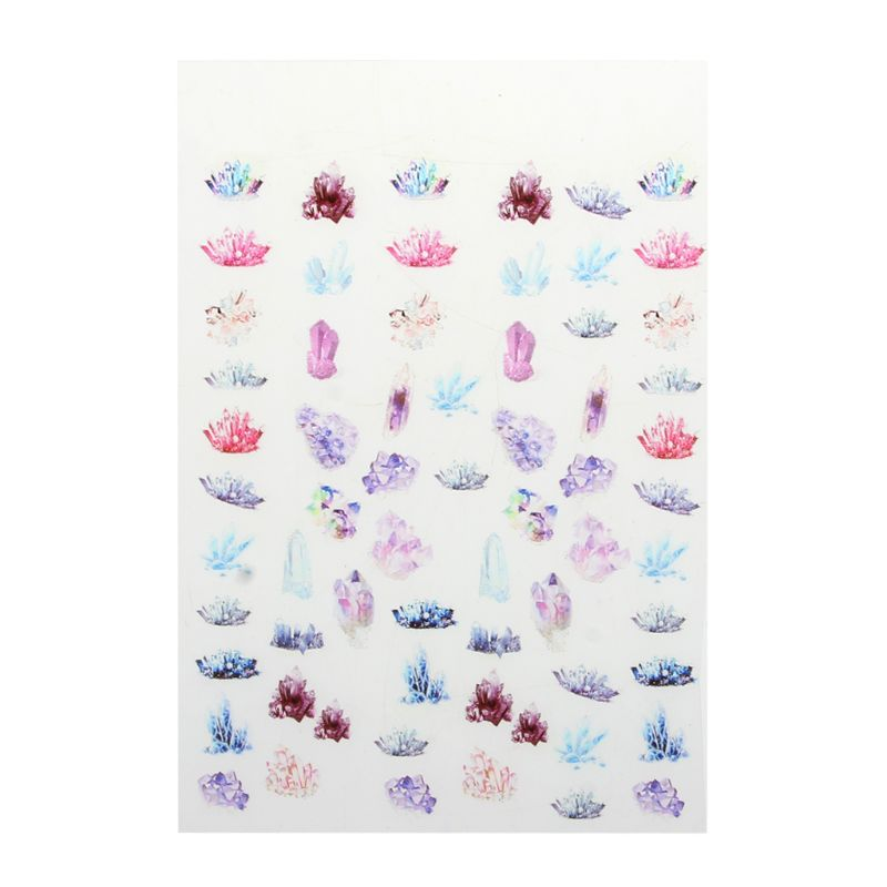 UV Epoxy Resin Crafts Filler Sticker Floral Colorful Translucent Crystal Animal Landscape Jewelry DIY Filler Phone Case Decor