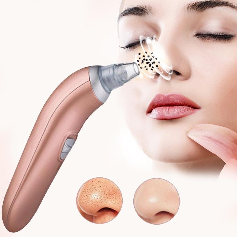 Moisturizing Blackhead Remover & Black Head Pore Vacuum Comedone Suction Spot Cleaner Kit Dropshippiong