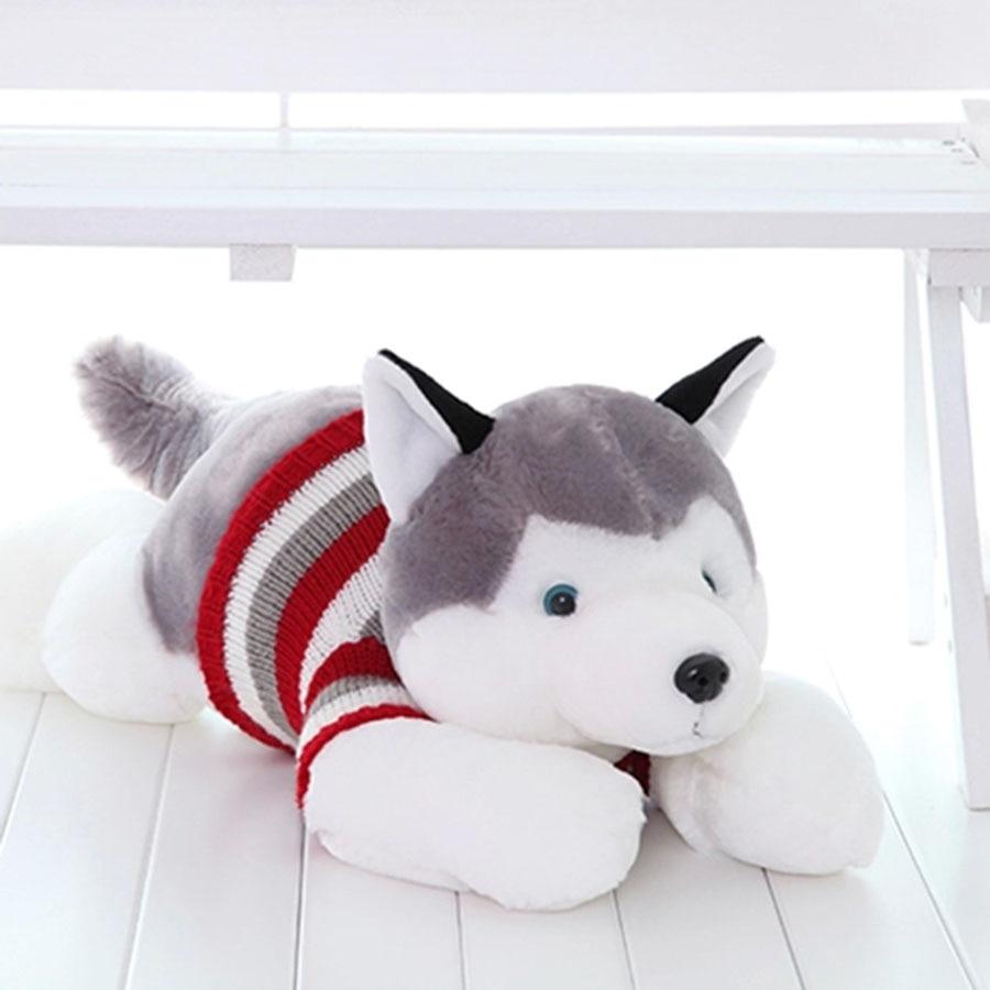 Siberian Husky Stuffed Animal Dog Brinquedos Kawaii Stuff Pillow