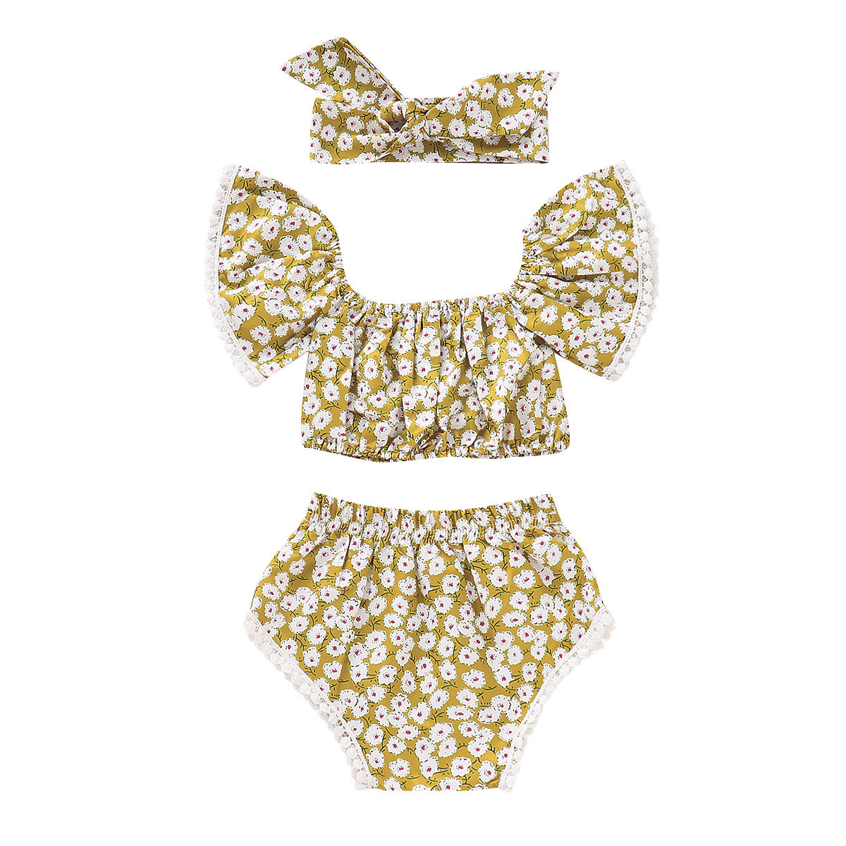 HTB1OI4AayLxK1Rjy0Ffq6zYdVXa0 - 3pcs Newborn Toddler Baby Girls Summer Clothes Tank Tops+Floral Shorts Pants Outfits