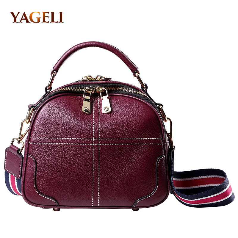 À Sacs En Ins green Véritable brown Luxe Main Black Bandoulière red Vache wine Femmes De Chaude Cuir Red Designer 2019 Lady XOppqBw