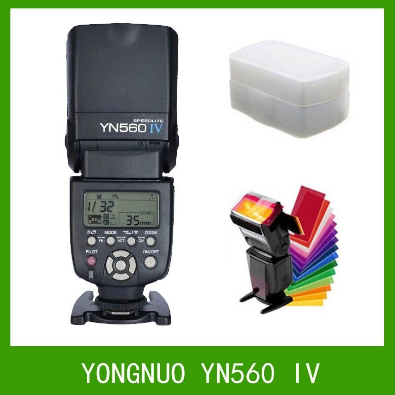 Yongnuo yn560 iv 2.4g wireless flash speedlite per canon 6d 7d 60d 70d 5d2 5d3 700d 650d, yn-iv per nikon d750 d800 d610 d90