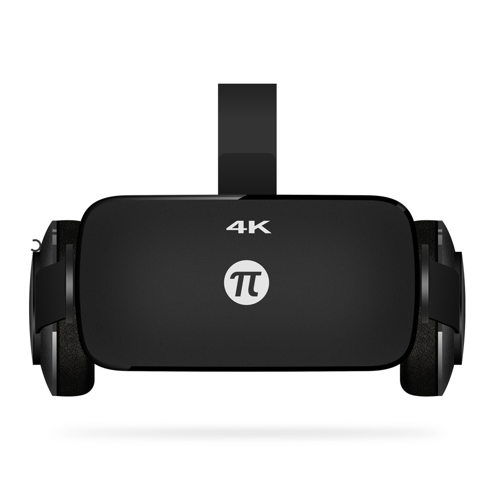 Original PIMAX 4K VR Helmet Cardboard Virtual Reality Glasses Mobile Phone 3D Video Movie Headset With Earphone PC 110 Degree