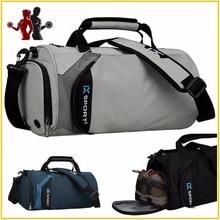 Quality waterproof Nylon sports bag font b fitness b font bag profession men women gym shoulder