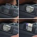 Универсальный Сторона Автокресло Назад Хранения Чистая Сумка Телефон держатель Карманный Организатор Черный