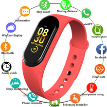 Sport Fitness Tracker M4 Smart Heart Rate Monitor Bracelet Calories Band Fashion Watch for iOS