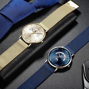 Image 4 - Relogio Masculino BELOHNUNG Mode Männer Uhr Wasserdicht Herren Uhren Top Brand Luxus herren Uhr Komplette Kalender Woche Uhr