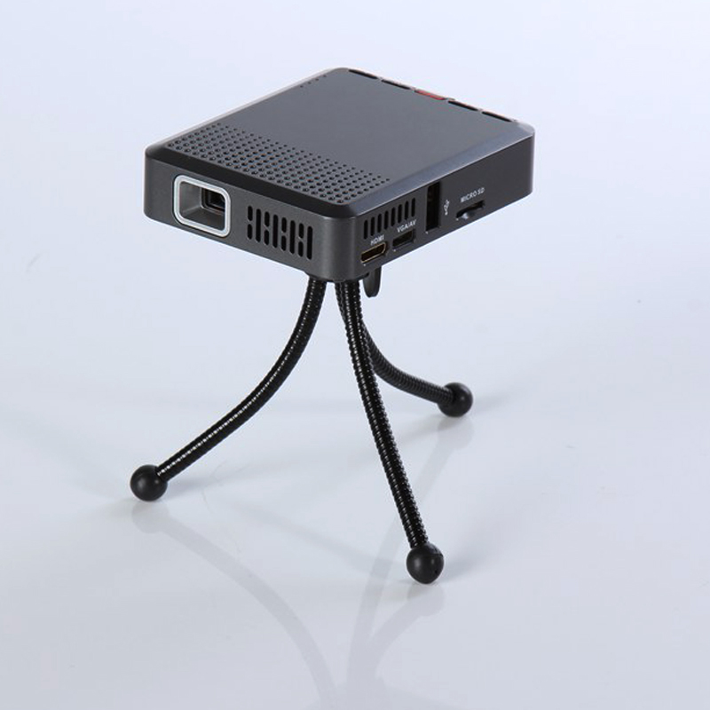 Mini portátil de Bolsillo LED Proyector HDMI VGA DLP 854*480 de Resolución LED M