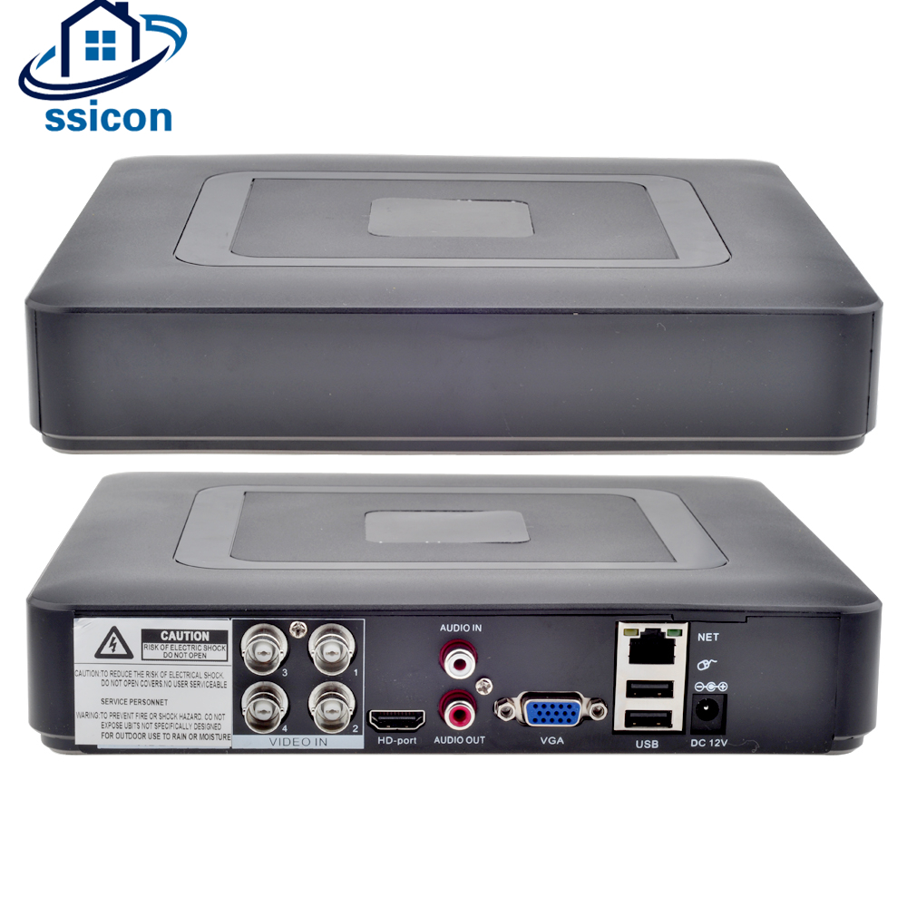 SSICON AHD 4CH CCTV DVR Mini DVR 5IN1 For CCTV Kit VGA HDMI Surveillance Security CCTV Video Recorder DVR Hybrid NVRSSICON AHD 4CH CCTV DVR Mini DVR 5IN1 For CCTV Kit VGA HDMI Surveillance Security CCTV Video Recorder DVR Hybrid NVR