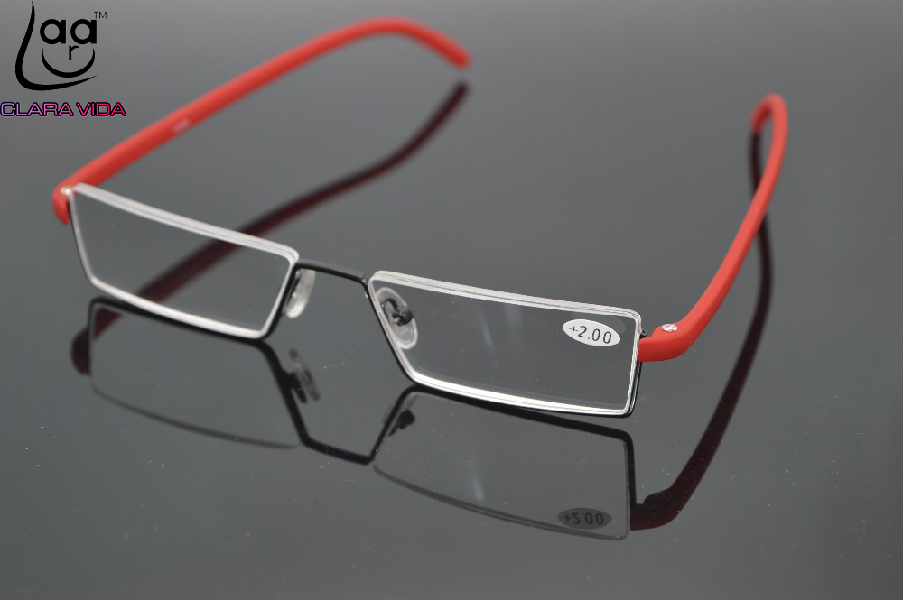 8fe5e93620 Best buy Titanium alloy Brand presbyopic glasses rimless Ultra light  Spectacle frame men women reading glasses +1 +1.5 +2 +2.5 +3 +3.5+4 online  cheap