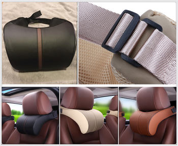 car Accessories Stretch Cotton Headrest Neck Pillow Interior Products for Lexus UX RC ES RX NX LS LF-1 LC CT IS LX GS LF-SA image