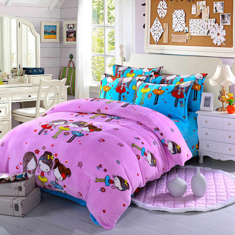 Paris bedding set queen queen size bed sets french - Fundas nordicas vintage ...