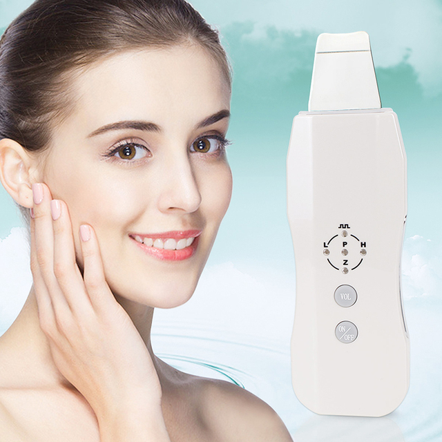 Gentle Peel Ultrasonic Skin Scrubber