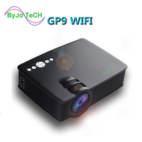 ByJoTeCH GP 9 WIFI Projector Mini LED projector Full HD Portable Home theater projector LCD Video proyector HDMI GP9