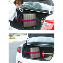 Promotion Car Trunk Organizer Elastic Car styling Color Strap Fixed Sundry Stowing Tidying Auto Interior Accessories Dewtreetali