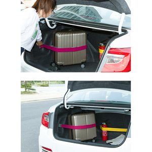 Image 1 - Promotion Car Trunk Organizer Elastic Car styling Color Strap Fixed Sundry Stowing Tidying Auto Interior Accessories Dewtreetali
