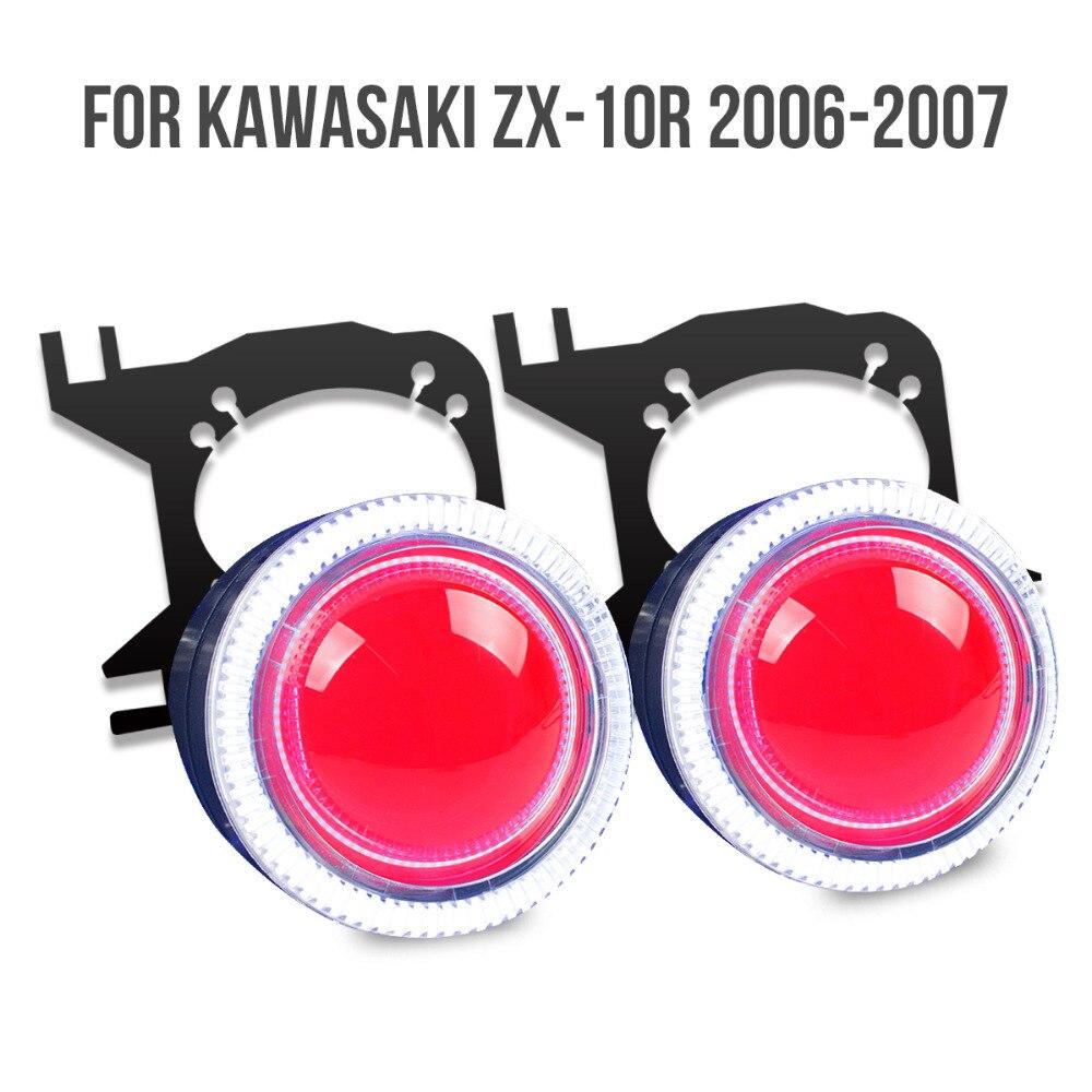 Kt Headlight Suitable For Kawasaki Zx 10R 2006 2007 Led-4044