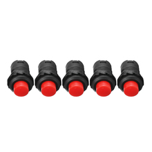5pcs 12mm Push Button Horn Switch High Quality Car Dash On-Off Momentary Doorbell