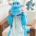 Монстры университет джеймс. Салливан Onesies пижамы комбинезон толстовки взрослых косплей костюмы