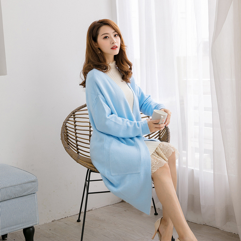 2020 New Spring And Autumn Knit Women Cardigan In The Long Section Of The Female Sweater YDSY315