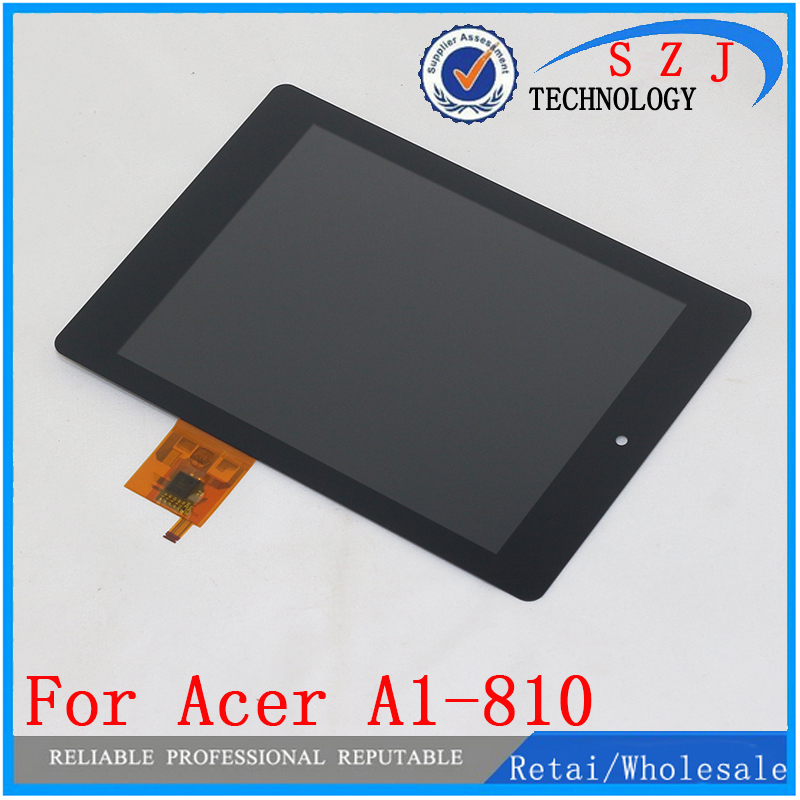 New 8'' inch For Acer iconia tab A1-810 A1 810 A1-811 A1 811 LCD Display Touch Screen Digitizer Assembly Replacement B080XAT01.1 for new lcd display touch screen digitizer with frame assembly replacement acer a1 820 8 inch black free shipping