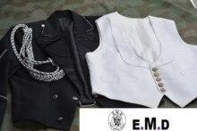 EMD Ufficiale vestito Da Sera, Twill di Lana