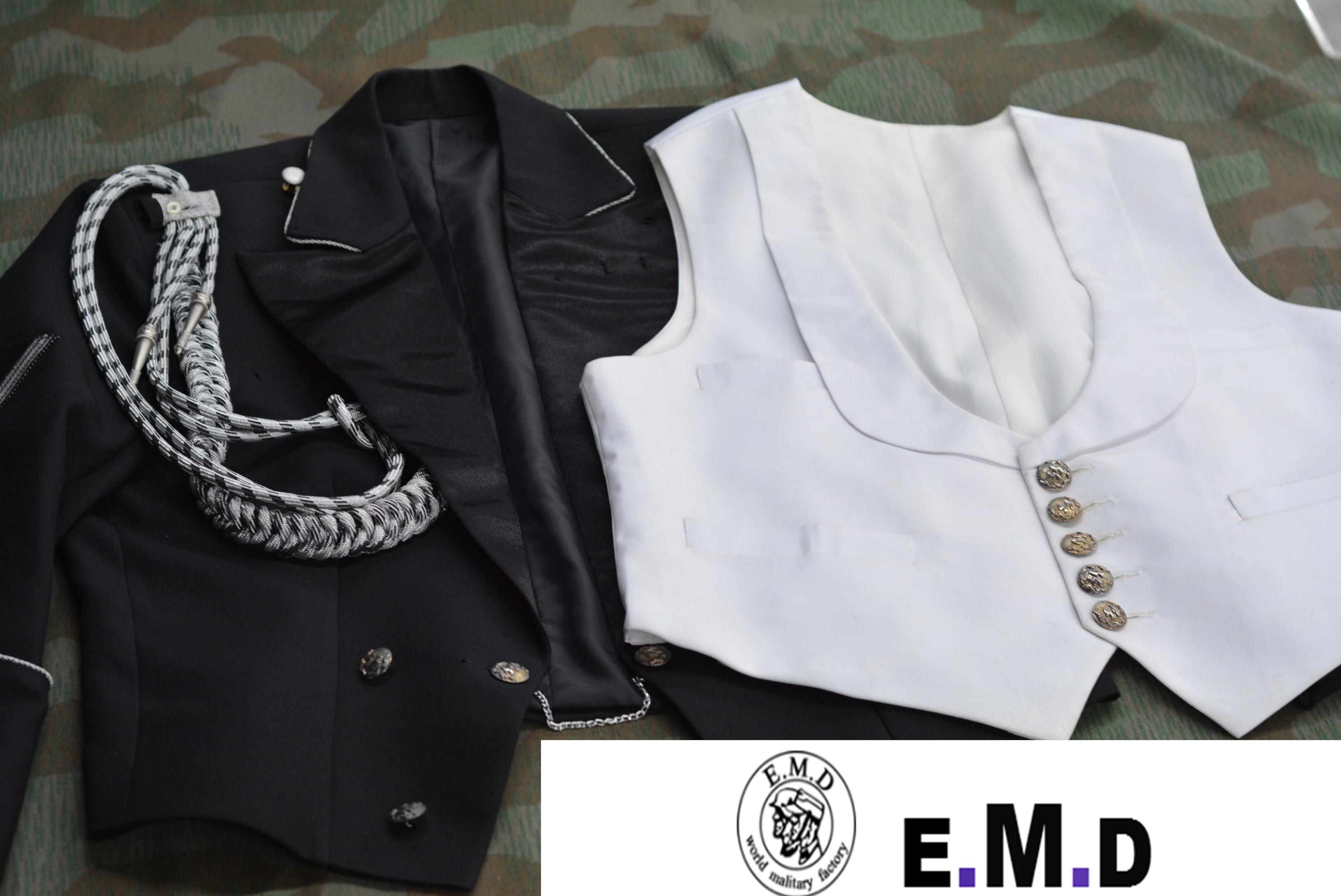EMD WW2 German Officer Evening dress , Twill Wool