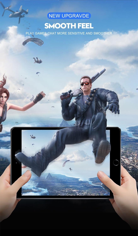 6D folia ochronna na ekran z zakrzywionymi krawędziami dla iPad Pro 11 10.5 9.7 ochronne szkło hartowane na dla iPad 2017 2018 powietrza 1 2 mini 2 3 4 9