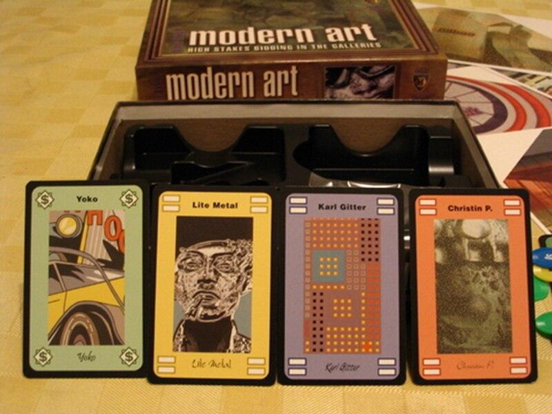 Moderne Spiele moderne kunst brettspiel 3 5 spieler karten spiele einfach zu