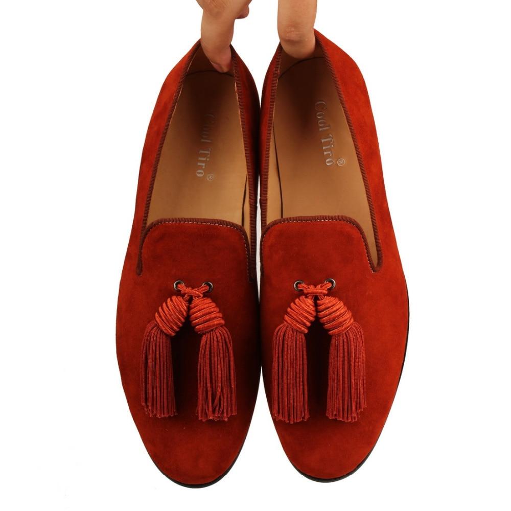 Tassel Men Loafers Suede SLIPPERS Flat (7)