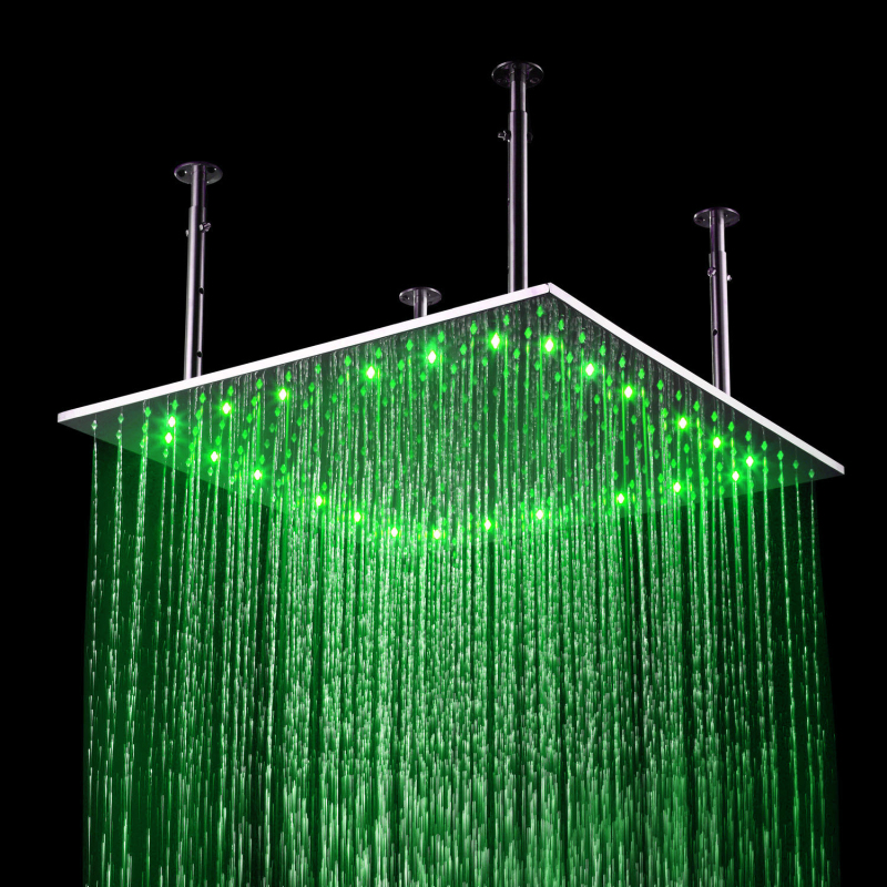 Economic Hot Selling 24 Inches LED Shower Lighting Bathroom Overhead ...