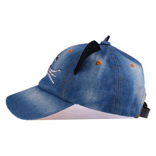 Baseball Cap Denim Kids Cat Ears Pokemon