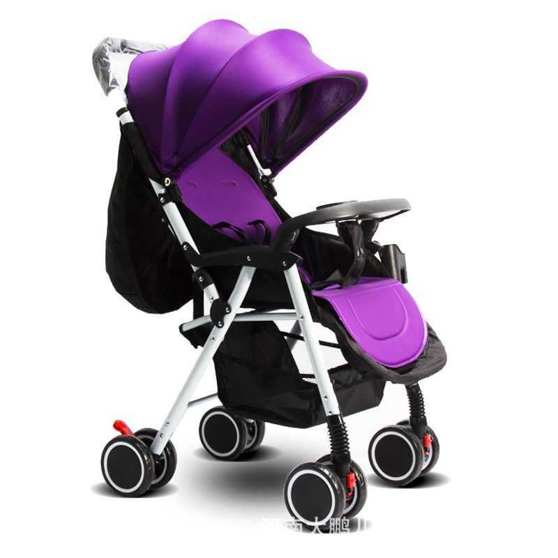 Portable Baby Stroller Ultra-lightweight Folding Can Sit Lie High Landscape Umbrella Car Baby Trolley Summer and Winter 0~36 M baby stroller ultra light portable shock absorbers bb child summer baby hadnd car umbrella