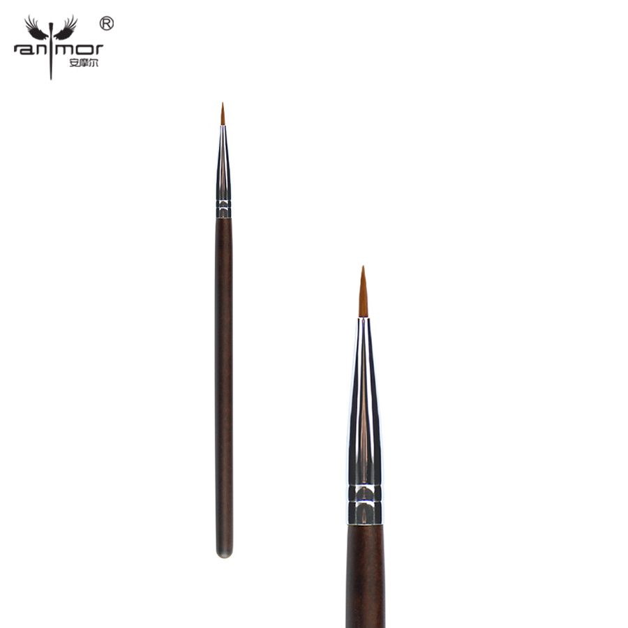 Anmor Synthetic Eyeliner Brushes Precise Eye Makeup Brushes for Daily or Professional Eye Make Up C10