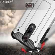 For Xiaomi Redmi K20 Pro Case Silicone Rubber Armor Hard PC Phone Cover for