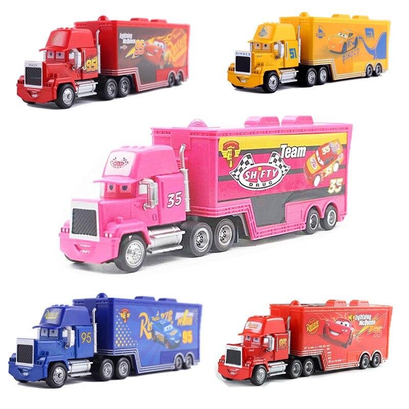 Disney pixar carro relâmpago mcqueen mai tio 35 jackson storm carro 1:55 fundição modelo de liga de metal carro de brinquedo presentes das crianças