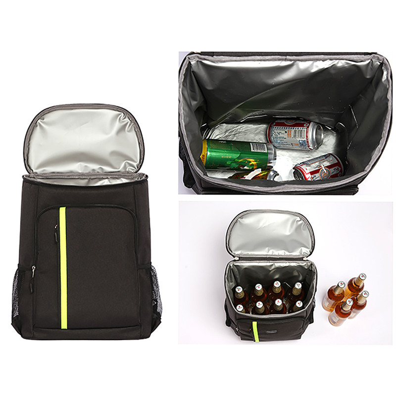 Outdoor Sport Day Trips Camping BBQ Picnic Leakproof Cooler Backpack Lunch Insulation Bag for Men Women