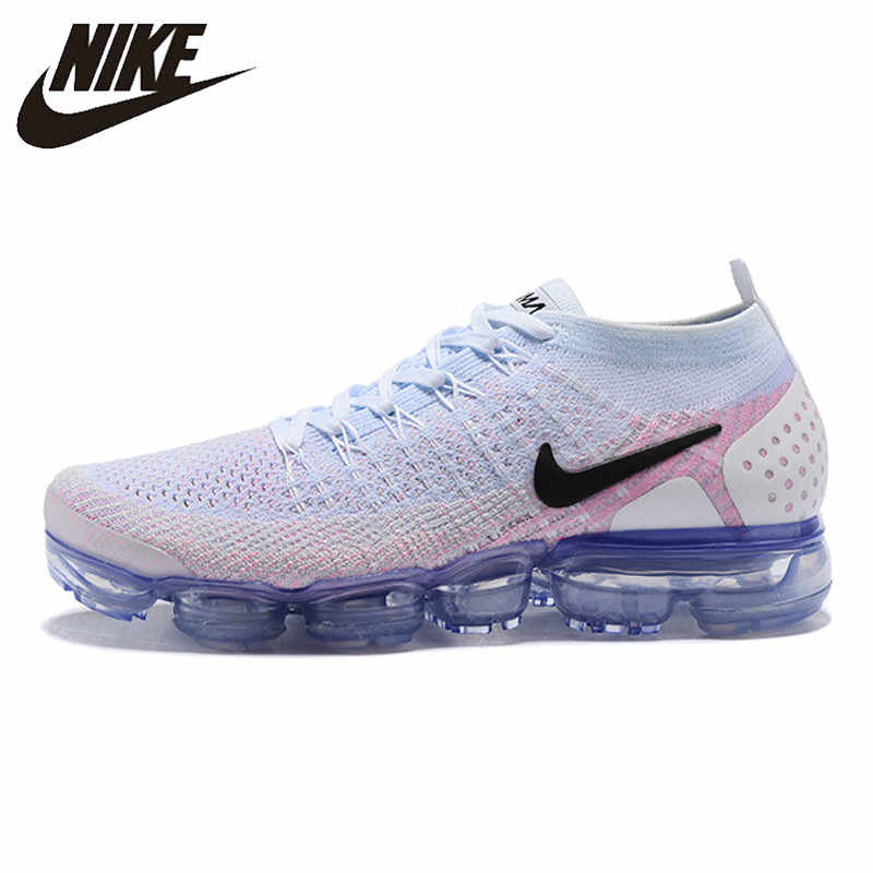 18985205e8fd NIKE AIR VAPORMAX FLYKNIT 2 Running Shoes Sneakers Outdoor for Women Orange  red 1802-8